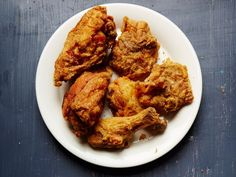 Parker's BBQ Fried Chicken, Pilgrimages This simple fried chicken recipe, from Parker's BBQ in Wilson, North Carolina, produces shatteringly crisp results and lets the bird's flavor shine.