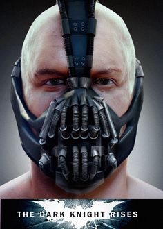 Bane.  Tom Hardy. Wow.                                                                                                                                                                                 More