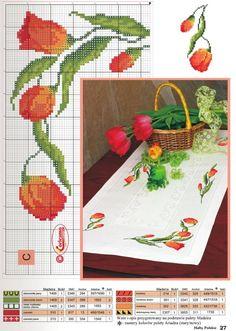 Gallery.ru / Фото #1 - 2 - tatasha Cross Stitch Boarders, Cross Stitch Numbers, Cute Cross Stitch, Cross Stitch Rose, Cross Stitch Flowers, Cross Stitch Charts, Cross Stitch Designs, Cross Stitching, Cross Stitch Embroidery