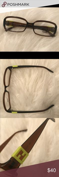 Fendi eyeglasses Fendi F880 frames. 54-14-135. NWOB. Comes with different colored plastic pieces with Fendi logo to switch out on the temples. Fendi Accessories Glasses