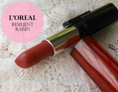 L'Oreal Paris Infallible Le Rouge Lipstick Resilient Raisin: Review and Swatches