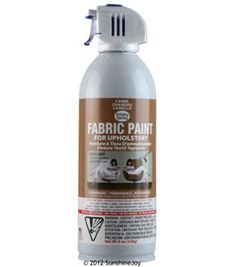 Upholstery Spray Fabric Paint 8oz- Camel