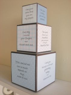 A wonderful idea for a nursery! A relatively easy DIY project.