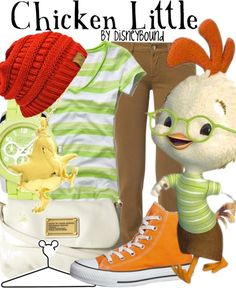 Disney Inspired Outfit - Chicken Little