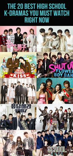 The great thing about K-dramas that take place in high school is that they range from goofy ones based off mangas, like Boys Over Flowers, to nostalgic ones, like Answer Me Here is a list of 20 of the best high school K-dramas Boys Over Flowers, Boys Before Flowers, Flower Boys, Korean Drama Movies, Korean Actors, Korean Dramas, Korean Drama Best, Playful Kiss, Live Action