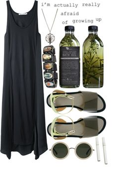 """""""119. Going down to the well"""" by celine-roux-laurent ❤ liked on Polyvore"""