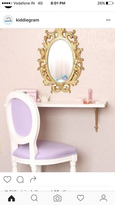 Mia- DIY child's vanity