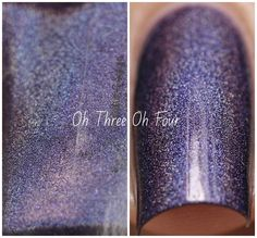 Blue-Eyed Girl Lacquer: BEGLove (Limited Edition) #blueeyedgirllacquer #begl #beglove #swatch #indiepolish