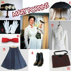 mary poppins costume idea - Google Search