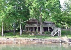 4 br  Blairsville Lake Front Cabin Vacation Rental