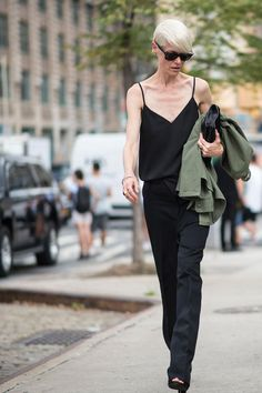 Off-Duty Models Won Street Style on Day 3 of NYFW - Fashionista