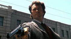 "Dirty Harry (1971) ""Do you feel lucky, punk? Do ya'?"" #70s #dirtyharry #clinteastwood"