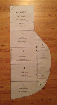 Hier findet ihr die Schnittteile für das Tragecover Und hier gibt es die bebilderte Anleitung als Download. Und für alle, die keine L...