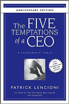 """five temptations of a ceo Tom peters tells great leaders: """"we are ceos of our own companies: me, inc"""" whether in the role of the individual contributor or the actual ceo of the company, we are the ceo of the business we own – """"me, inc"""" the work that we do, the job we are in or the organization, group or people we serve."""