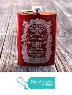 8oz CUSTOMIZED Polyjuice Potion Flask from Hip Flask Plus https://www.amazon.com/dp/B01N36ZR9D/ref=hnd_sw_r_pi_dp_j-KIybXQVX0RM #handmadeatamazon