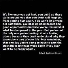 Let them down got hurt putting them back up and putting an electric fence as well. Would rather be alone than hurt like this Down Quotes, Words Quotes, Wise Words, Qoutes, Building Walls Quotes, Breaking Point Quotes, Wall Quotes, Life Quotes, Broken Quotes