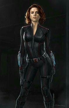 Scarlett Johansson as Black Widow Marvel Avengers, Ms Marvel, Marvel Comics, Heros Comics, Marvel Women, Marvel Girls, Comics Girls, Marvel Heroes, Avengers Memes