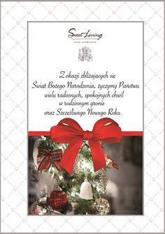 Sweet Living życzy Wesołych Świąt