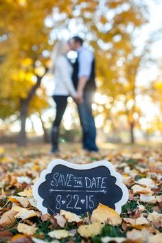 Save money right off the bat with your save the dates. #weddingideas