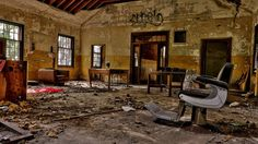 Abandoned since 1991, Forest Haven