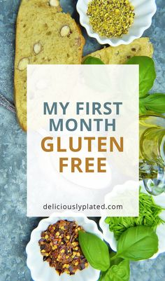 How I transitioned to a #glutenfree lifestyle and the recipes I relied on.
