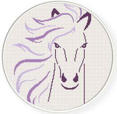 Buy 2 get 1 free. Horse - Cross Stitch Pattern. (#P- 1272). Modern Cross Stitch Pattern, counted cross stitch pattern. INSTANT DOWNLOAD   ********** BUY 2 GET 1 FREE (of equal or lesser value) **********  **** Free selection is not included with instant download, it is sent manually. **** Free selection is NOT to be purchased, only noted.  (Add 2 patterns to your cart and write to me # from the title of 3 pattern into the Note to GlazovPattern box upon checkout. The 3 pattern Ill send to…