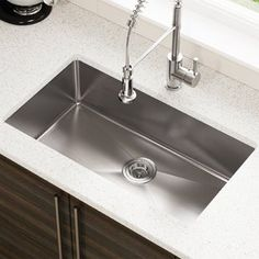 Exceptional Kitchen Remodeling Choosing a New Kitchen Sink Ideas. Marvelous Kitchen Remodeling Choosing a New Kitchen Sink Ideas. Sink, Undermount Kitchen Sinks, Stainless Steel Kitchen Sink Undermount, Kitchen Design, Kitchen Remodel, Stainless Steel Sinks, Trendy Kitchen, Kitchens Direct, Steel Kitchen Sink