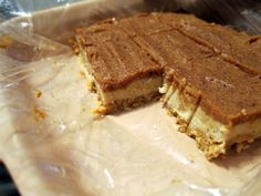 PaleOMG's No Bake Caramel Cheesecake Bars, heavenly and so easy to make!
