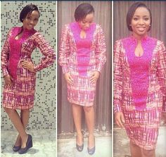 nigerian dress styles There are a number of ways to get ourselves beautified next an Ankara style African Party Dresses, African Dresses For Women, African Attire, African Wear, African Women, African Clothes, African Style, African Outfits, Nigerian Lace Dress