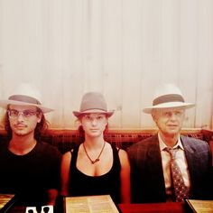 Matthew, Laura, and their dad, John Gubler.