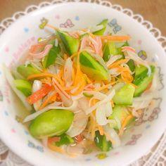 今日も又、ゆみさんのこれ! 活用! - 39件のもぐもぐ - Yumi103さんの料理 玉葱の甘酢漬けでキュウリの酢の物 by tomomikigovHK