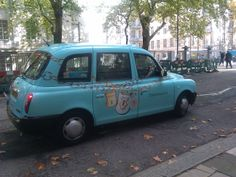 Tiffany and Co London Taxi