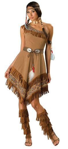 Elite Adult Indian Girl Costume - Mr. Costumes