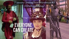 Check out this blog article from children's book author, D. L. Diehl. Wondercon is a place of inspiration, creativity, and individuality. Photos and philosophy from a popular arts convention that celebrates comics, children's books, TV, and movies.