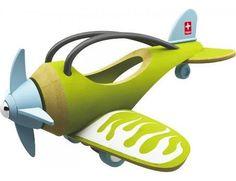 E-plane speelgoed van bamboe