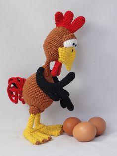 Amigurumi Crochet Pattern  Poultry Paul by IlDikko | Etsy