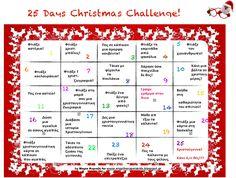 25 Days Christmas Challenge! O μήνας Δεκέμβριος φθάνει... Τα χριστούγεννα πλησιάζουν! Μία δραστηριότητα για κάθε ημέρα, θα βάζει τους μικρούς μας φίλους όλο και πιο πολύ στο πνεύμα των γιορτών! Christmas Challenge, Challenges, Day, Kids, Young Children, Boys, Children, Boy Babies, Child