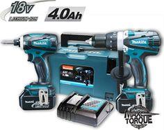MAKITA DLX2005MJ - Κρουστικό Δραπανοκατσάβιδο 18V DHP458D Παλμικό Κατσαβίδι 18V DTD146D με 2 μπαταρίες 4.0Ah Makita, Nerf, Drill, Toys, Activity Toys, Hole Punch, Drills, Clearance Toys, Drill Press