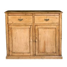 Traditional French Pine Buffet - $4,800 Est. Retail - $2,600 on Chairish.com