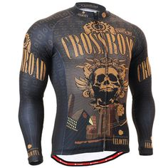 2016 New Muscle4Muscle 3D Full Torso Print Design Long Sleeve Compression Top