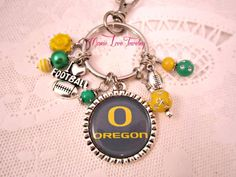 Hey, I found this really awesome Etsy listing at https://www.etsy.com/listing/195811519/oregon-duck-key-chain-oregon-ducks