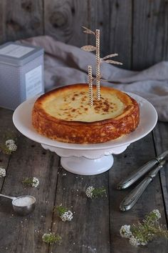 """Tarta de queso de """"La Viña"""""""