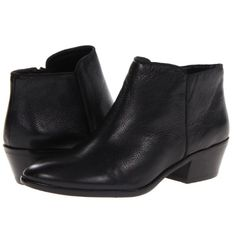 Sam Edelman Petty Booties Black Leather NWOT Adorable Sam Edelman Leather Booties.  No imperfections. Soles only show having been tried on. Sam Edelman Shoes Ankle Boots & Booties
