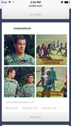 """Enlisted hahaha """"did he say bradley cooper?"""""""