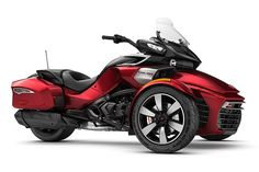 2017 Can Am Spyder F3-T in Intense Red Pearl | www.mm-powersports.com added this pin to our collection