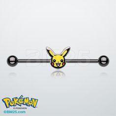 Pkachu Pokemon™ Blackline Industrial Barbell