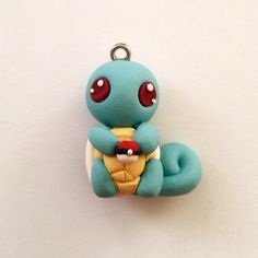 Hey, I found this really awesome Etsy listing at https://www.etsy.com/listing/469435137/polymer-clay-starter-pokemon-squirtle