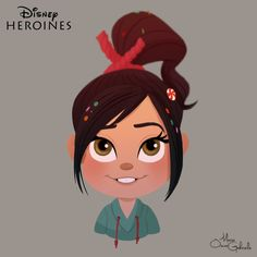 Vanellope by MarioOscarGabriele on DeviantArt Disney Dream, Disney Love, Disney Magic, Disney And Dreamworks, Disney Pixar, Disney Characters, Disney Princesses, Disney Fan Art, Ralph Disney