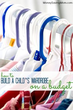 How to Build a Child's Wardrobe on a Budget -- some great ideas in this post!