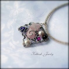 """Gaia"" Silberanhänger von Kokkozik Jewelry auf DaWanda.com"